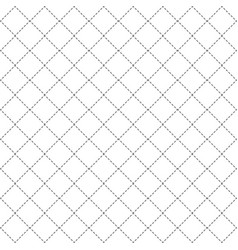 repeating geometric background with rhombus vector image