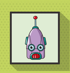 Robot smart technologies artificial vector