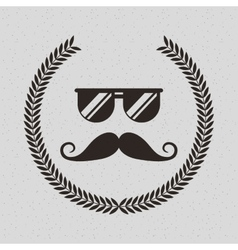 element classic hipster style vector image