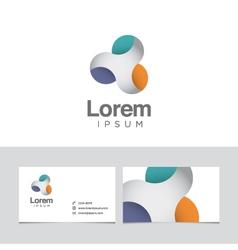 spheres logo vector image