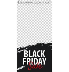 Black friday sale stories for instagram pack vector
