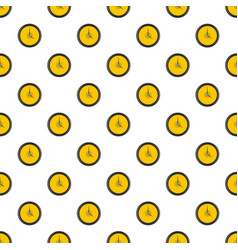 clock deadline pattern seamless vector image