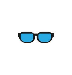 eye sunglasses logo icon design template vector image