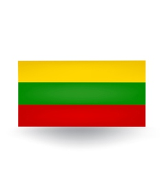 Lithuanian Flag vector image