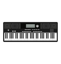 synthesizer isolated icon design vector image