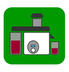 the juicer icon vector image