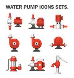 Water pump vector