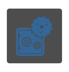 Hacking theft icon vector image vector image