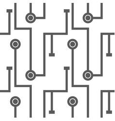 Abstract microchip scheme vector