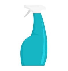 Cleaner spray icon flat style vector