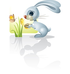Easter Time Has Come vector image