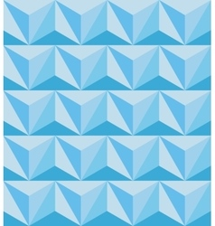 Geometric abstract seamless pattern Polygonal 3d vector image