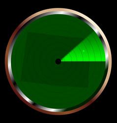 Radar on colorado vector
