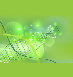 science template green wallpaper or banner with a vector image