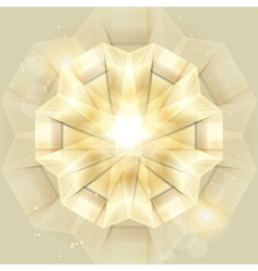 Abstract Gold Shiny background vector image