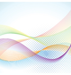 Abstract blended background vector image vector image