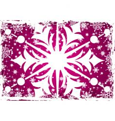 background snow vector image vector image