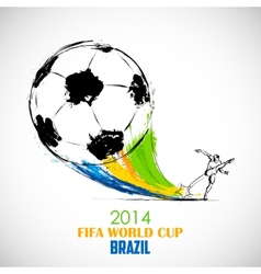 FIFA World Cup background vector image
