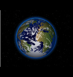 beautiful Planet Earth vector image