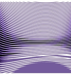 White-purple ochronie strip with perspective vector image vector image