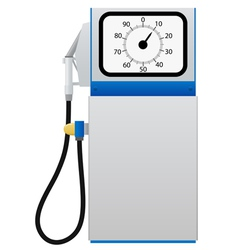 fuel pump vector image