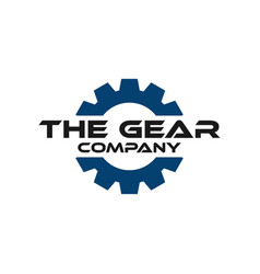 gear graphic design template vector image