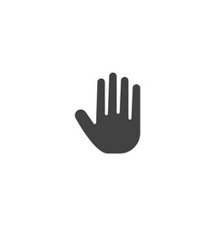 hand palm icon vector image
