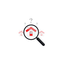Home real estate appraisal clipart price vector