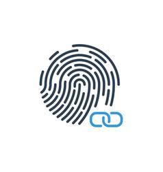 Hyperlink chain symbol link fingerprint security vector