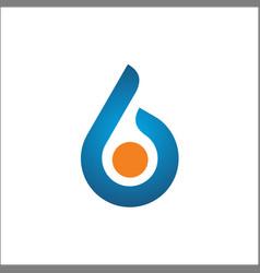 initials b logo template vector image