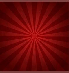 rays background red burst it stylish vector image