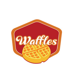 Waffle-logo vector