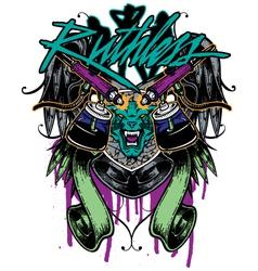Tshirt graphic tattoo vector