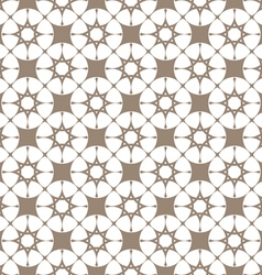 Abstract beige seamless pattern with stylized vector image vector image