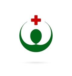 Medical pharmacy symbol Identity template vector image