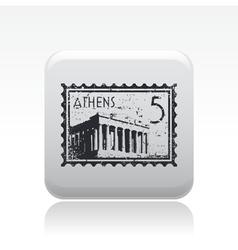 athenian icon vector image