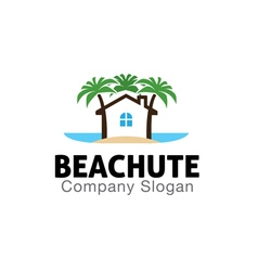 Beach Hut Design vector