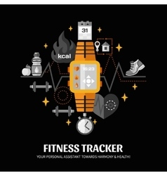 Fitness Tracker vector
