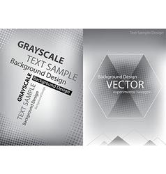 graybackgroubd vector image