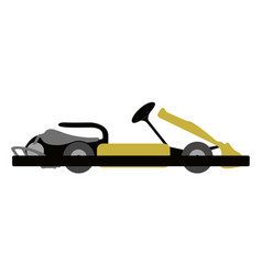 Isolated kart icon vector