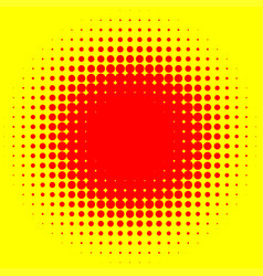 Pop art polka dots circles halftone comic effect vector