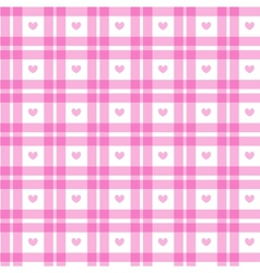 Romantic Pink Square vector image