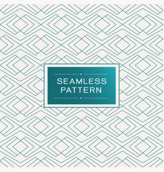 Seamless pattern with simple line geometric vector