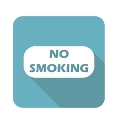 Square no smoking icon vector