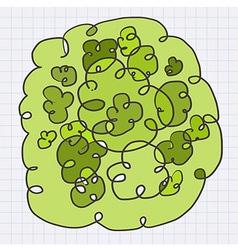 greenArt vector image