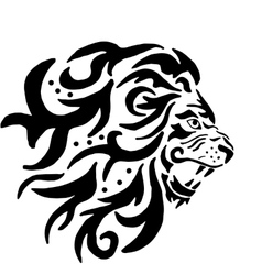 The Lion Pattern vector image