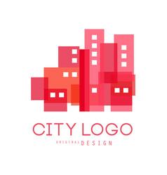 city logo original design modern design real vector image