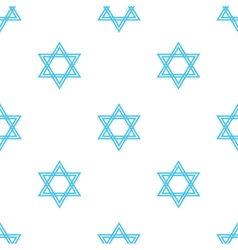 Jewish holiday hanukkah seamless pattern vector