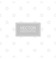 stylish seamless circles pattern - simple vector image