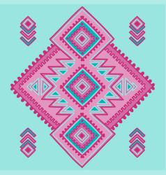 tribal line shapes ethnic pattern sacred vector image